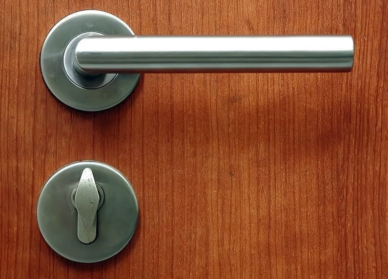 Door Lock and handle